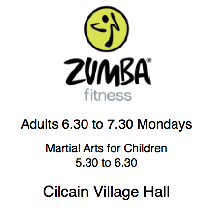 Zumba Starts again tonight!