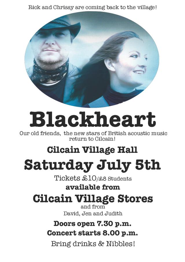 Blackheart Poster 2014