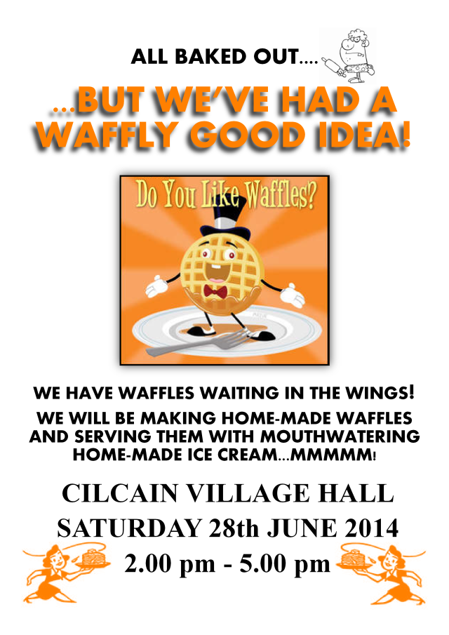 Waffle poster June 28th 2014