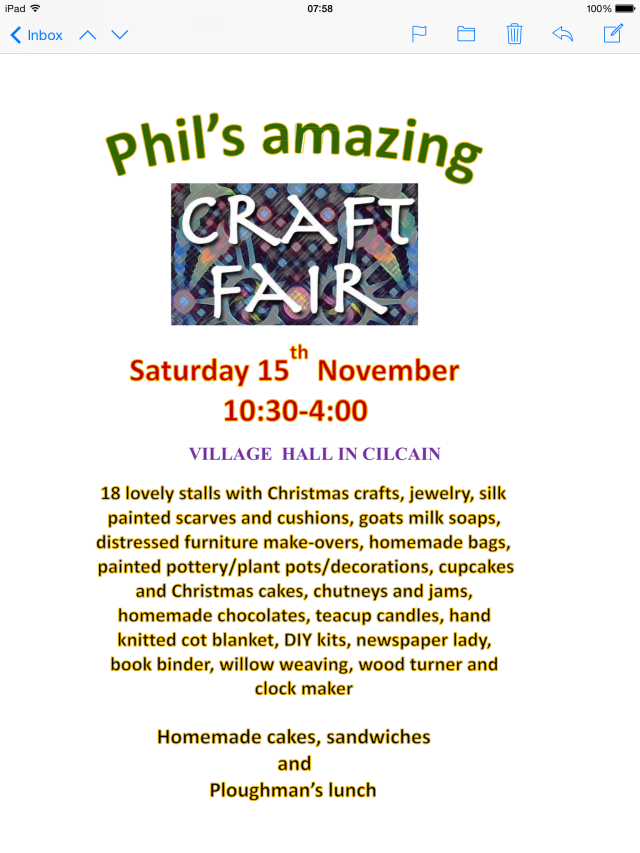 Phil's craft poster