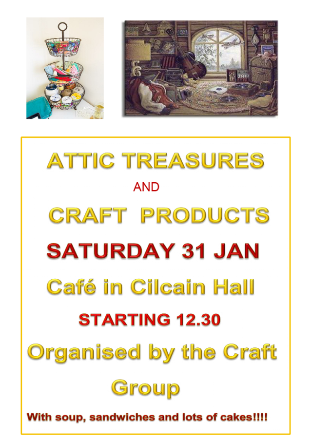 Craft Group Cafe 31st January 2015
