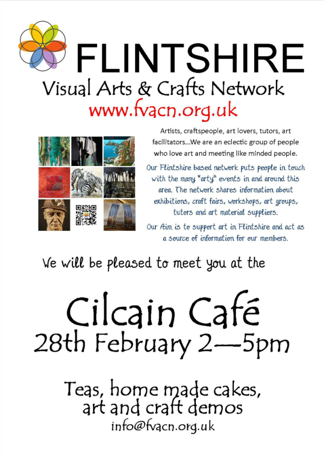 Flintshire visual arts cafe 28.02.15