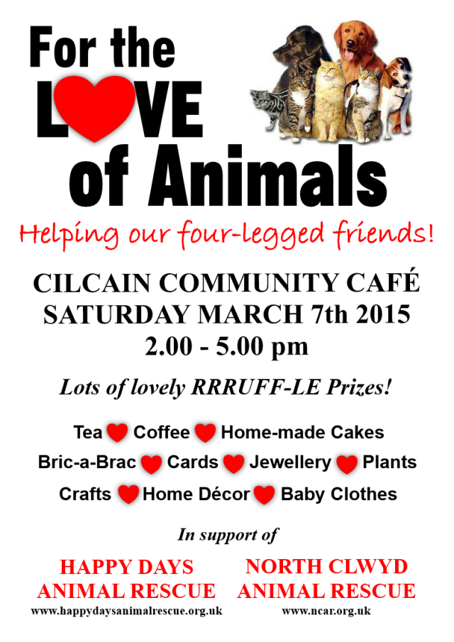 For the Love of Animals 2015 amended