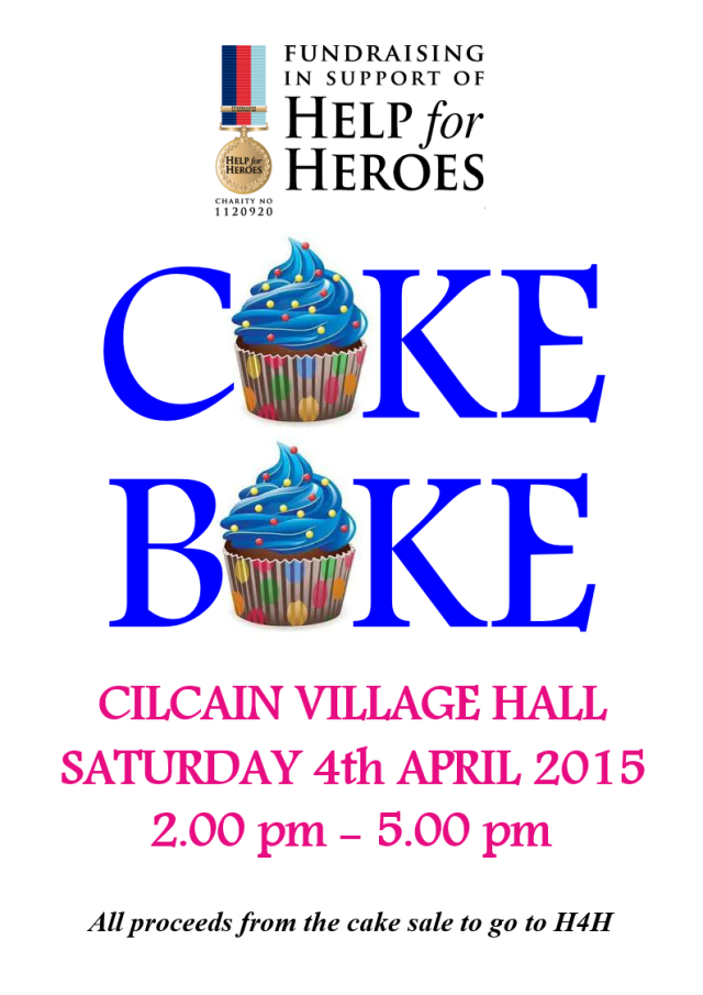 Help for Heroes April 2015