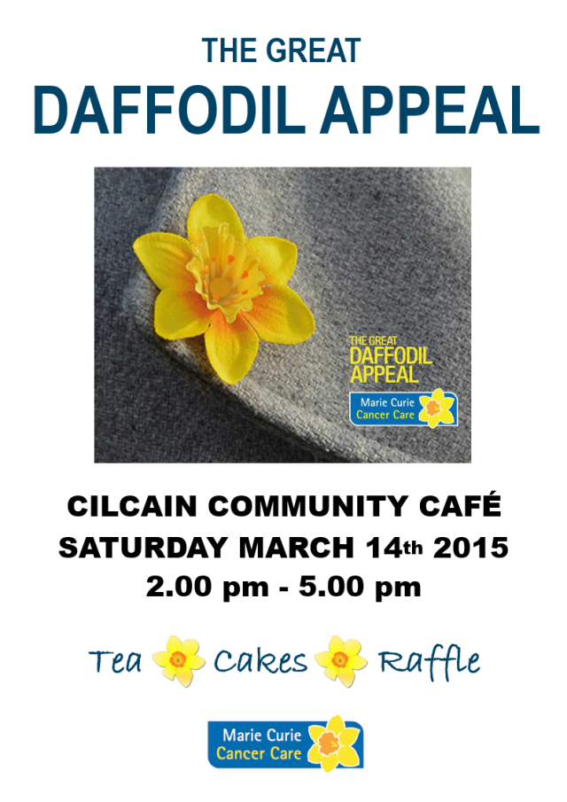 Marie Curie Cafe March 2015
