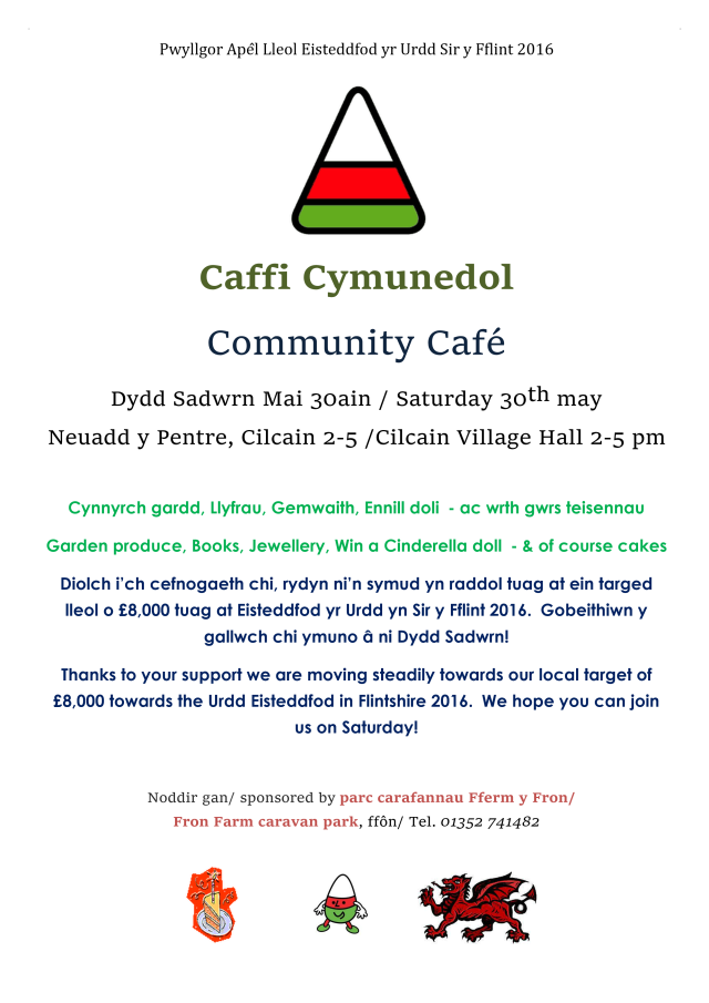 Urdd Poster May 2015