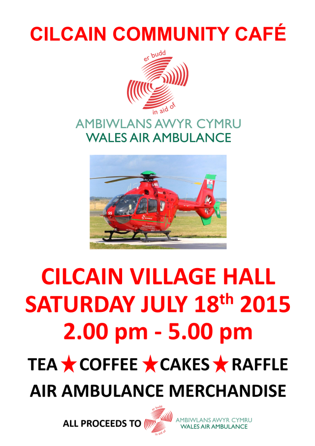 Air Ambulance Cafe July 2015