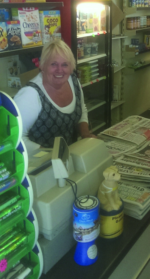 JUDY'S LAST DAY IN SHOP