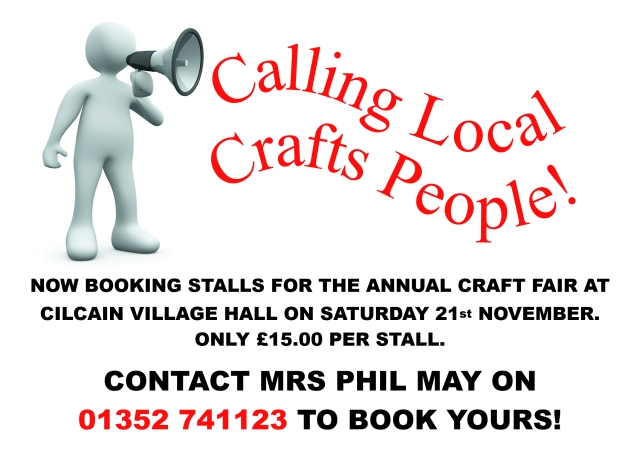Calling local crafts people