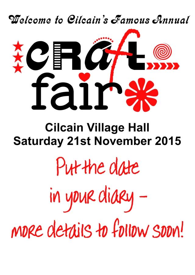 Craft Fair poster 2015