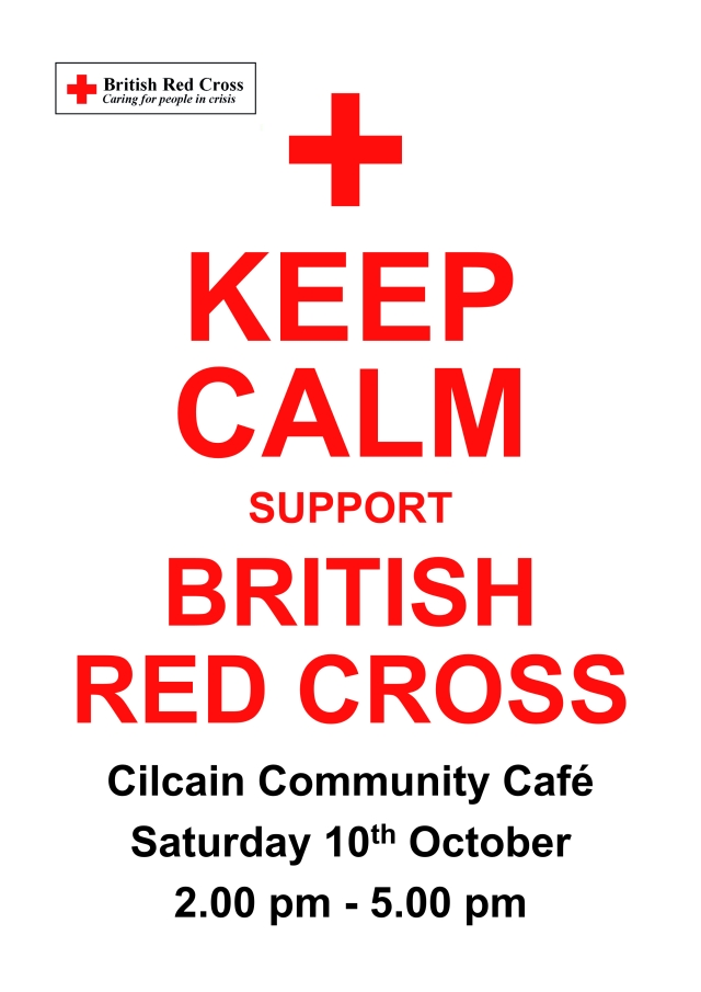 Red Cross poster October 2015