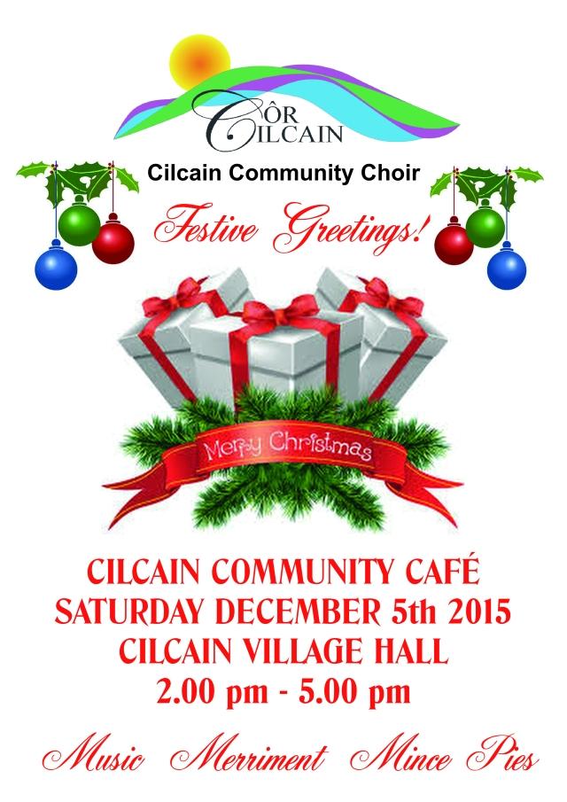 Choir Xmas cafe December 15