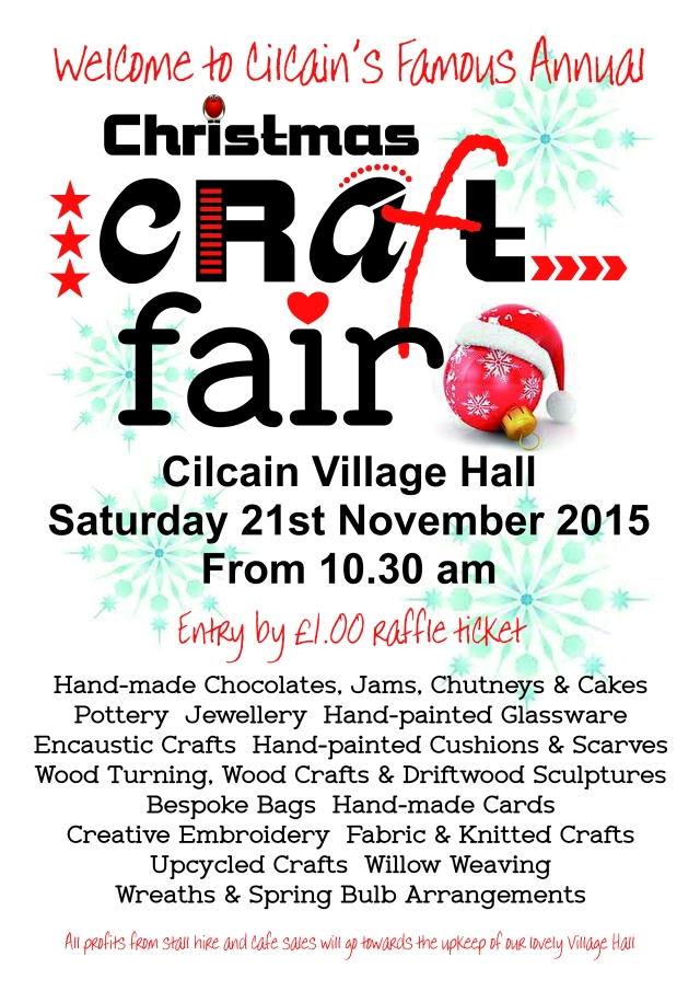 Craft Fair poster 2015