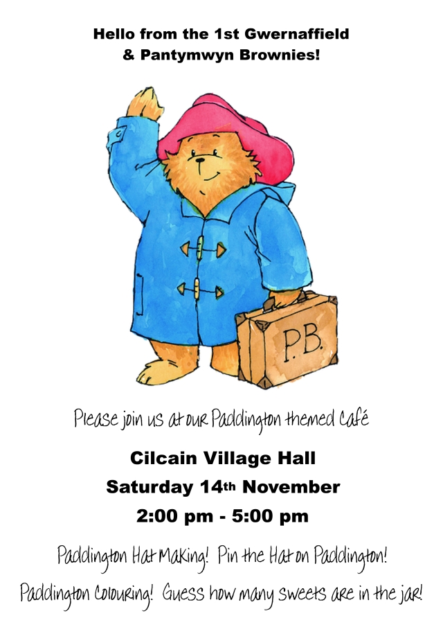 Paddington poster November 2015