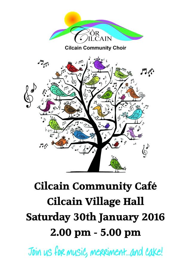 cor cilcain poster Jan 2016