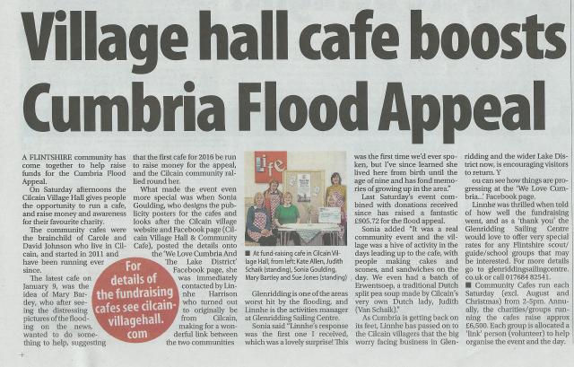 Newspaper article Cumbria 1