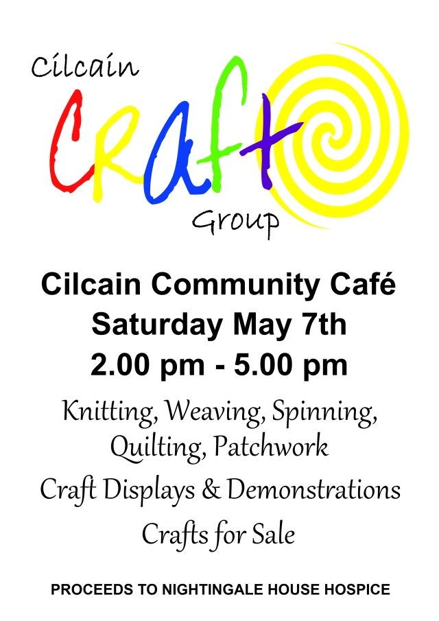 Craft Group Cafe May 2016