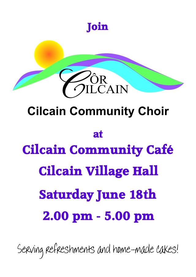 Cor Cilcain Poster June 2016