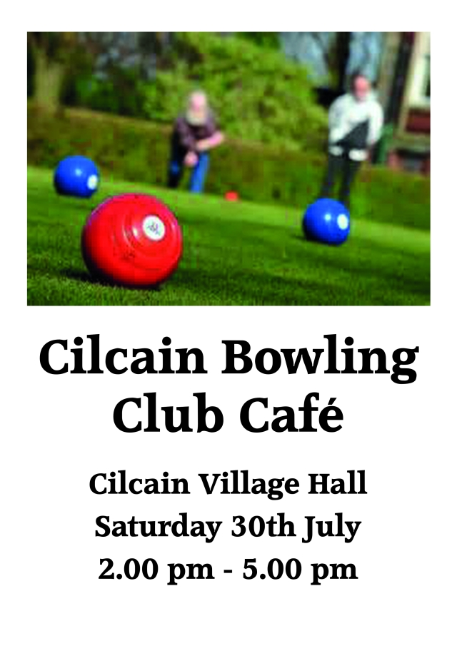 Cilcain Bowling Club July 2016